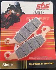 Тормозные колодки передние SBS 705HR FR