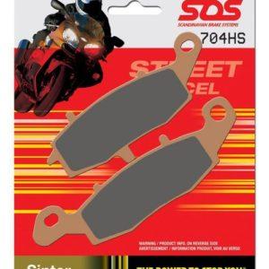 Тормозные колодки передние SBS 704HS для мотоциклов