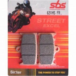 Тормозные колодки передние SBS 631HS