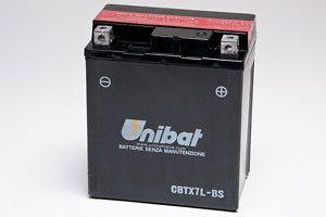 UNIBAT Аккумулятор YTX7L-BS, BMCBTX7LBSU