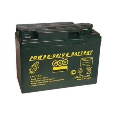 Мотоаккумулятор YB16AL-A2 WBR Power-Drive AGM - 16 A/ч 250 А (MT 12-16)