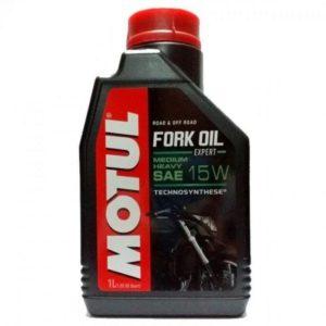 Вилочное масло MOTUL Fork Oil Expert medium/heavy 15W (1 л.)