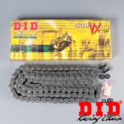 Цепь для мотоцикла 600-1000cc 112 звеньев, 530VX DID