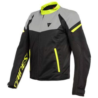 Куртка текстильная Dainese Bora Air Tex Black/Magnesio-Matt/Fluo-Yellow 48