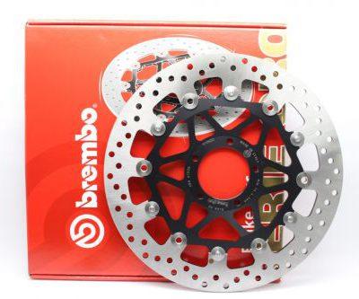 Тормозной диск BREMBO 78B40877 для мотоцикла HONDA CBR, VTR