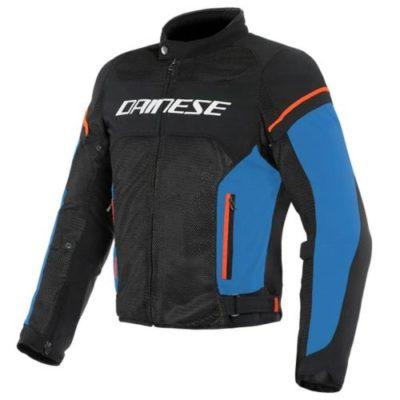 Куртка текстильная Dainese Air Frame D1 Black/Light-Blue/Fluo-Red 48
