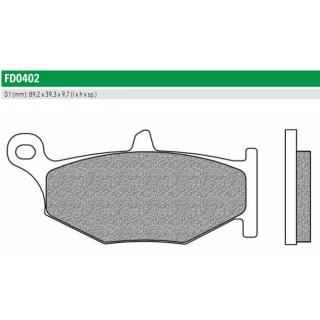 FD0402BT Тормозные колодки для SUZUKI GSX, (FDB2213P)
