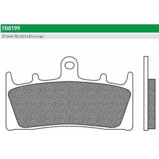 FD0199TS Тормозные колодки для KAWASAKI, SUZUKI. (FDB873ST)