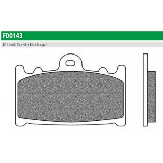 FD0143TS Тормозные колодки для KAWASAKI, SUZUKI. (FDB574ST)