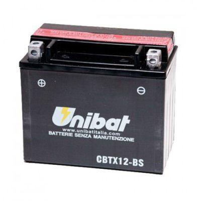 UNIBAT Аккумулятор YTX12-BS, BMCBTX12BSU