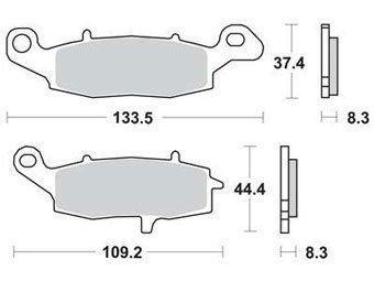 Тормозные колодки Lucas TRW – MCB682SV