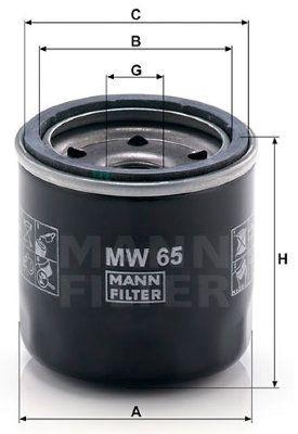 Масляный фильтр Mann – MW65