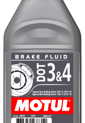 MOTUL DOT 3&4 Brake Fluid 1 литр